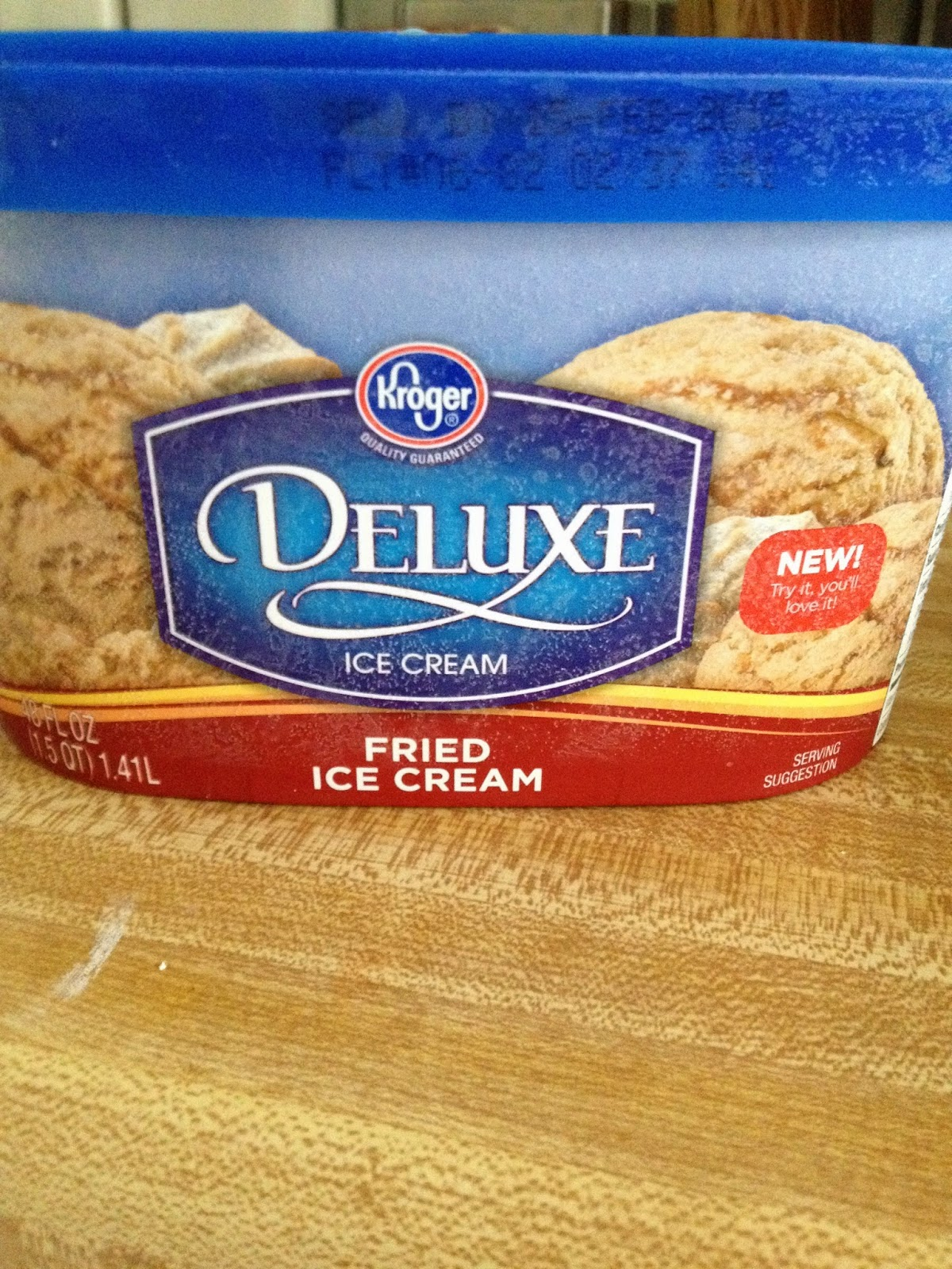 Kroger Delux Fried Ice Cream
