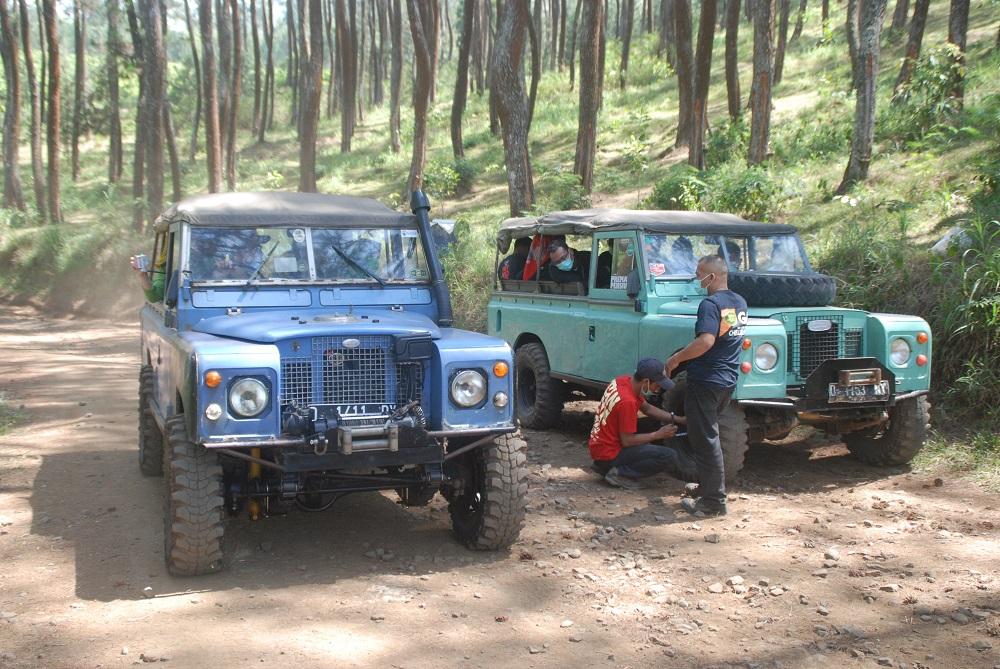 Persiapan offroad di Lembang bersama SKY Adventure