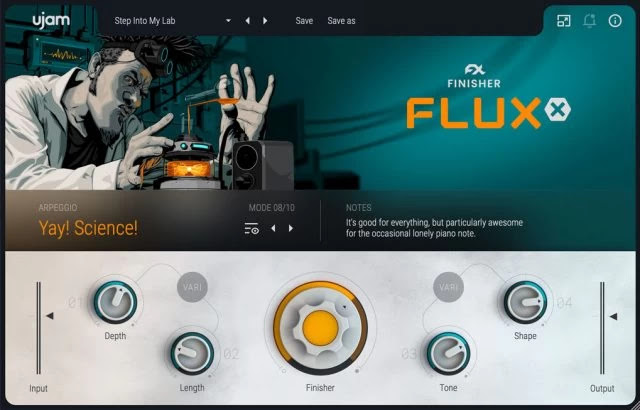 UJAM FINISHER FLUXX by UJAM