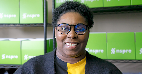 Chaymeriyia Moncrief, founder of NSPRE