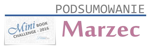 MINI BOOK CHALLENGE 2016 | PODSUMOWANIE MARCA