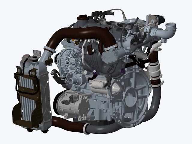 Novo Hyundai Hb20 2016 Turbo - motor