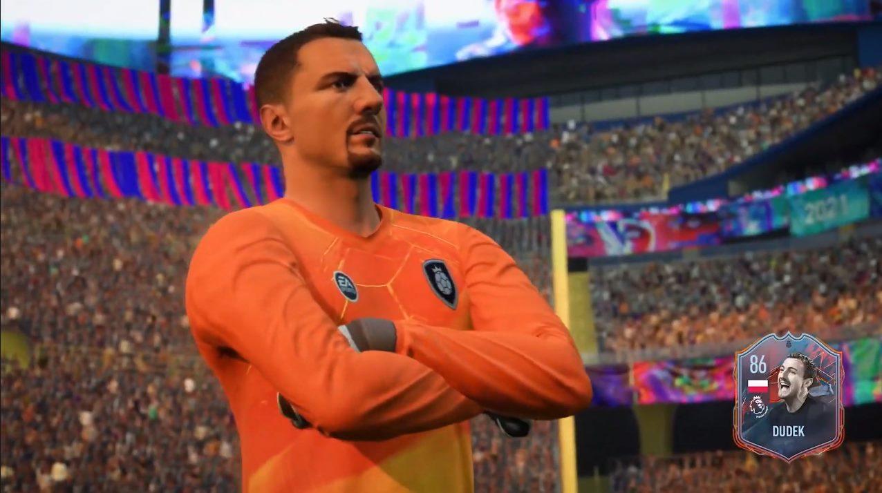 Twarz Jerzego Dudka FIFA 22