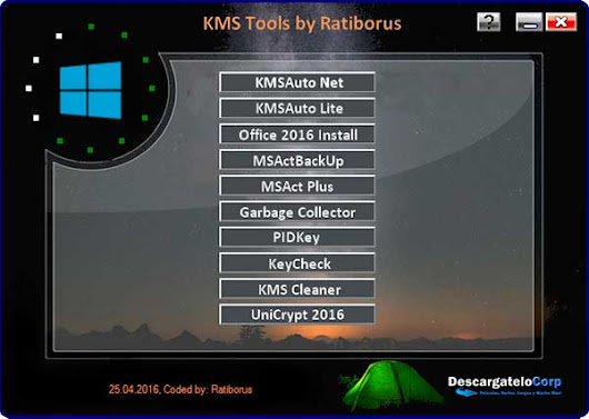KMS Tools Portable Pack de Utilidades Para Activar Windows y Office