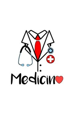 Infographics on Study MBBS, study MD. medical Education Symbol Coat of a doctor