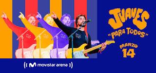 Concierto de Juanes en Bogota