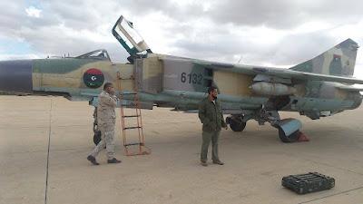 Приобретения и потери ливийских ВВС