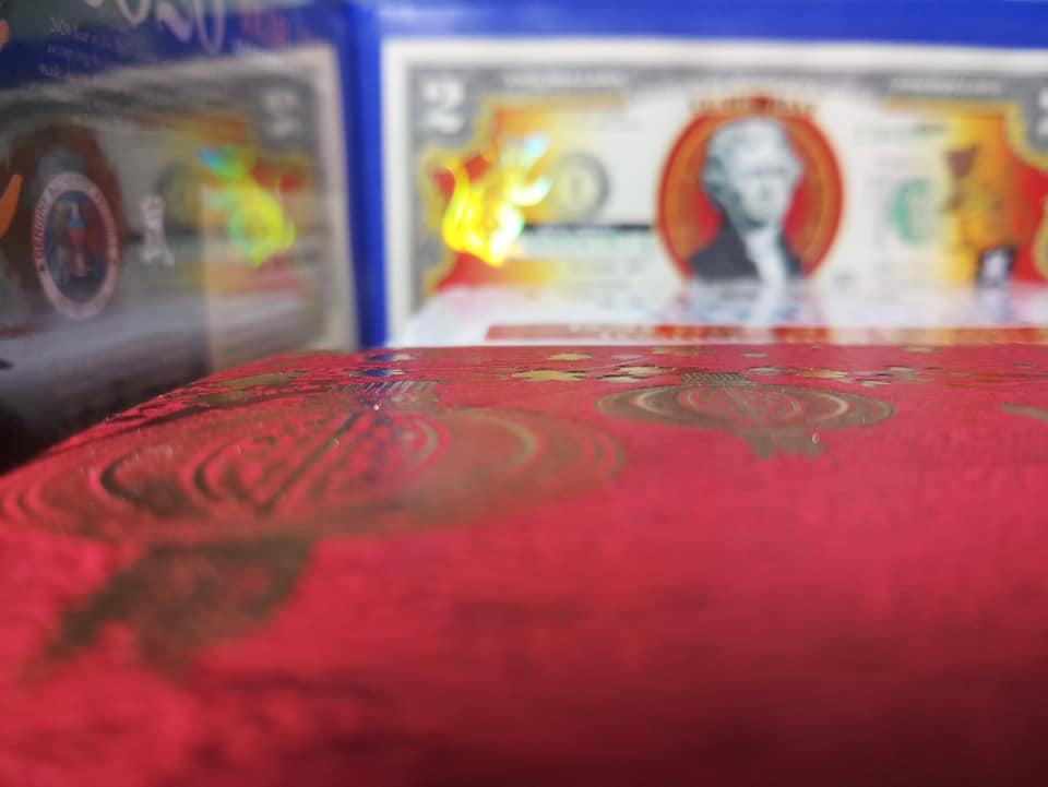 2 đô mạ vàng – Đồ phong thủy tâm linh, kéo tài lộc về nhà bạn!