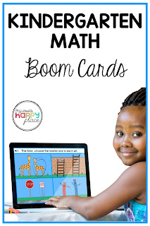 Boom Cards Bundle of Kindergarten Math Activities