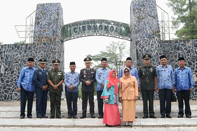 Peringatan Moment Penting Diisi Ziarah ke Taman Makam Pahlawan