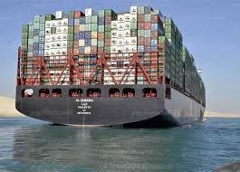 24.7 مليون دولار إيراد اليوم  لقناة السويس بعبور 72 سفينة بإجمالي حمولة صافيه 5.3 مليون طن