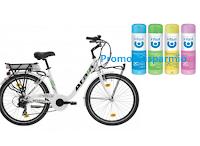 Logo Concorso Infasil ''Dedicato a te e alla tua freschezza'': vinci E-bike