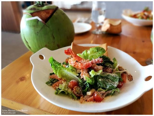 Caesar Trio Salad - PHP 420