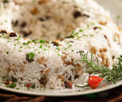 receita de risoto com frutas secas
