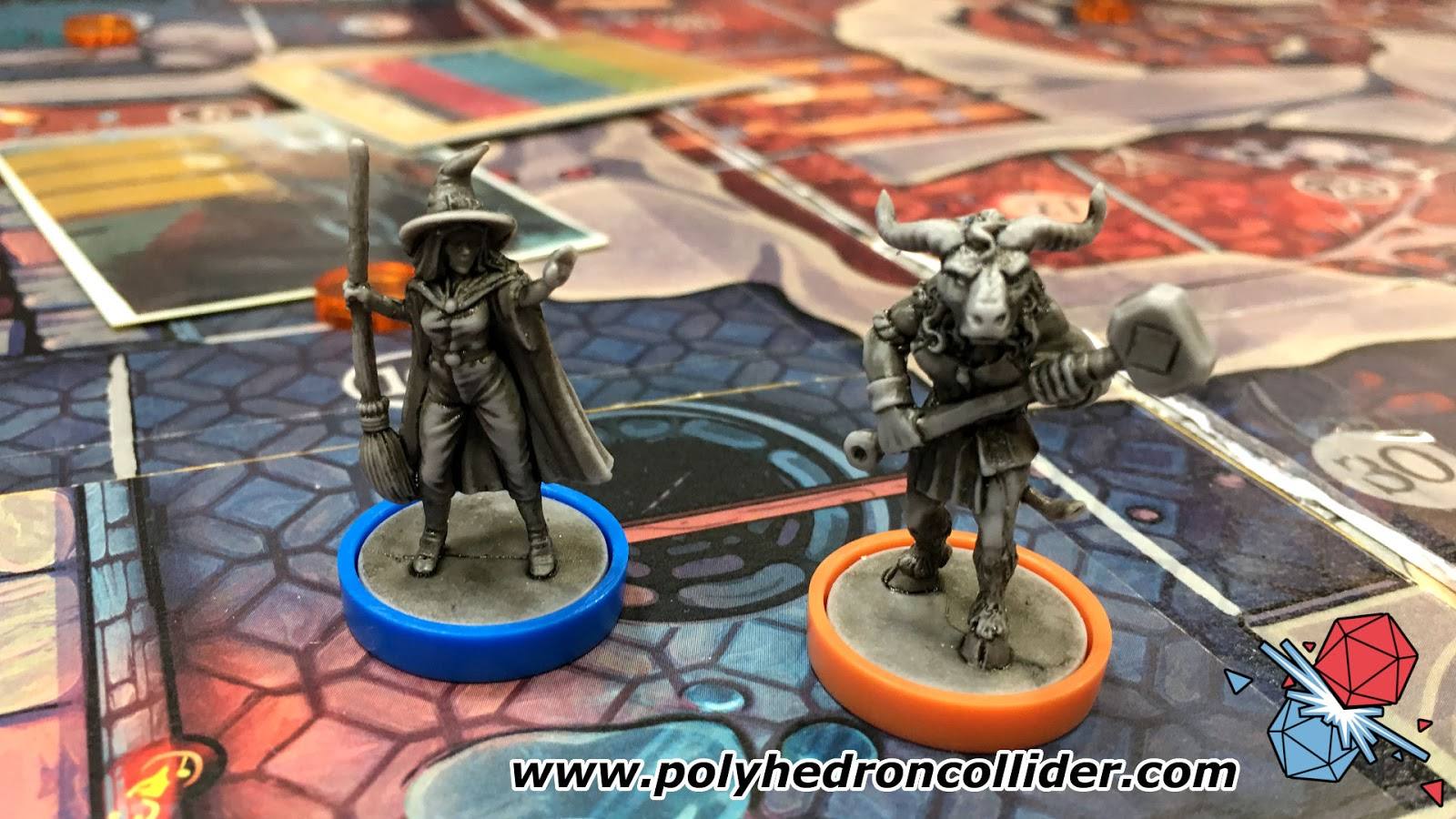 Martin Wallace wildlands preview miniatures