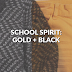 School Spirit: Gold and Black