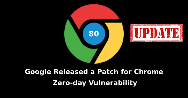 Chrome version 80