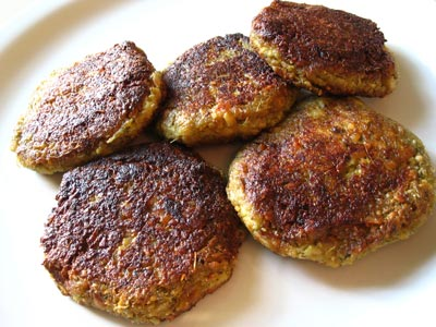 Tempeh Cutlets