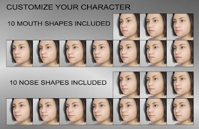 50f45cf0fdb30 Body Shapes  Children for Genesis 8 Female