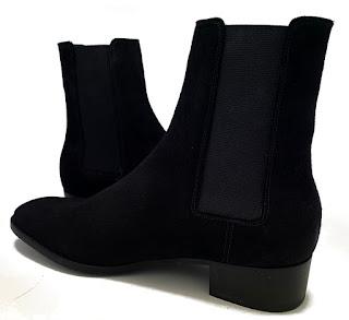 paulusbolten.com chelsea boots en daim noir