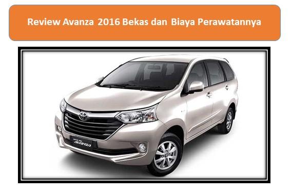 Review Avanza 2016 Bekas