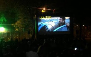 cinema all'aperto