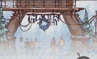 Disney Glacier Bay Concept Art