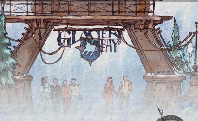Glacier Bay Entrance Concept Art Disney Parks