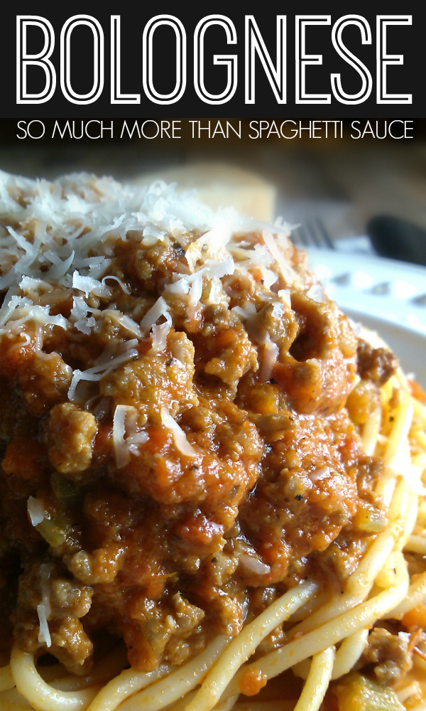 A rich Italian meat sauce recipe made with beef and pork with layers of flavor perfect over pasta or in lasagna.