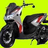 Yamaha Lexi, Varian Warna dan Fitur Unggulan