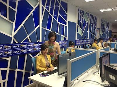 Mendaftar Internet Banking melalui Customer Service
