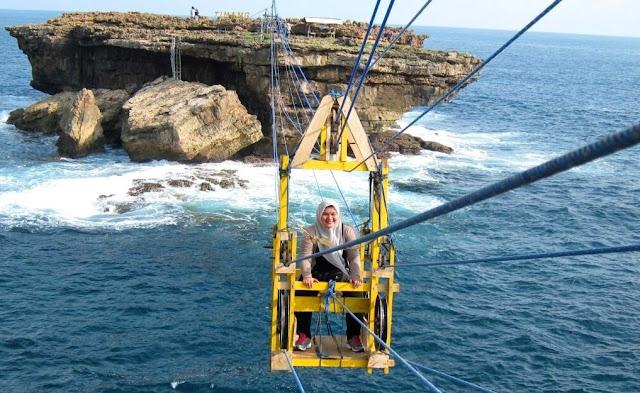 wisata extreme jogja pantai timang
