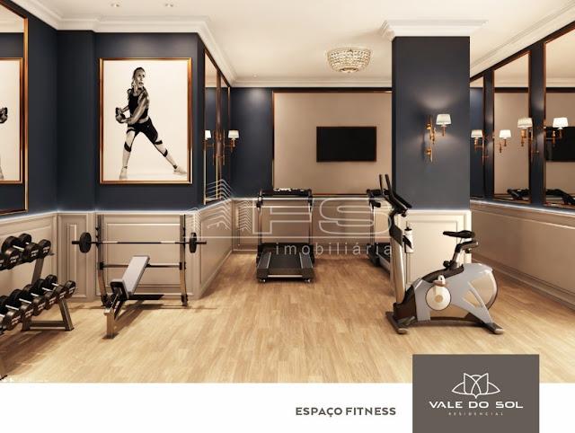 Vale do Sol Residencial -Espaço fitness