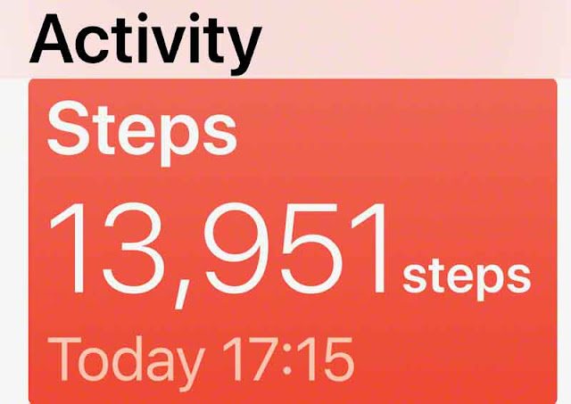 iPhone, activity, step, counter