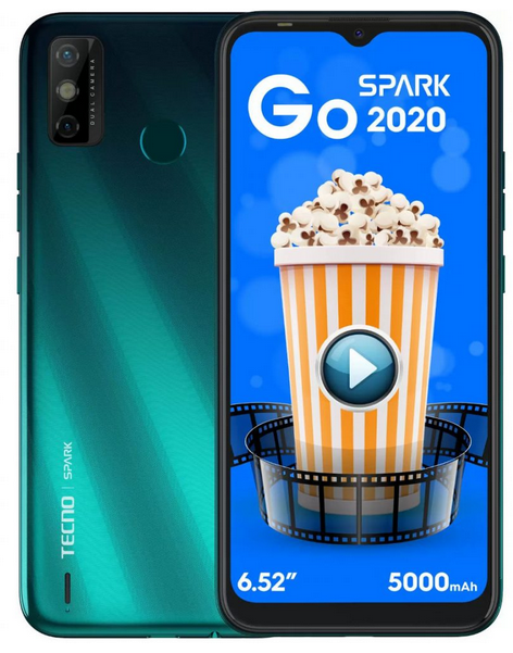 Tecno Spark Go 2020 with Android 10 Go Edition Launched
