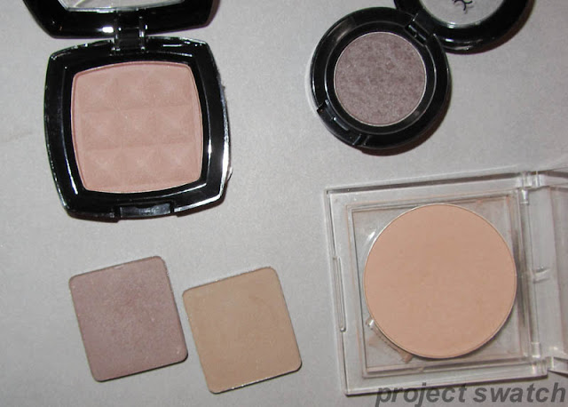 Contour Powder Swatches, Comparisons, Photos