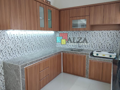 Kitchen Set model L Mojokerto