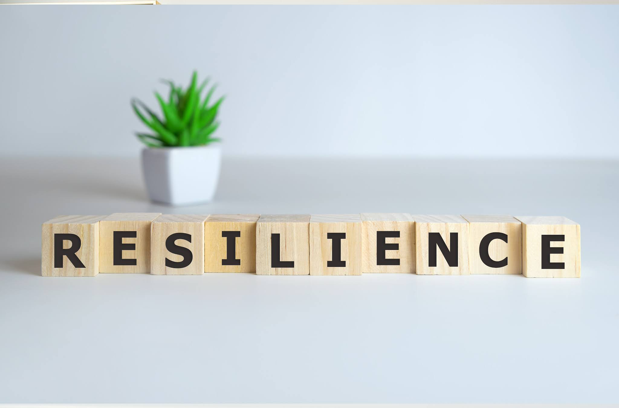 resilience spelt out in scrabble letters