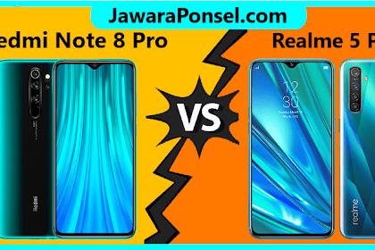 ADU Redmi Note 8 Pro vs Realme 5 Pro, Ponsel Murah Spek WAHH