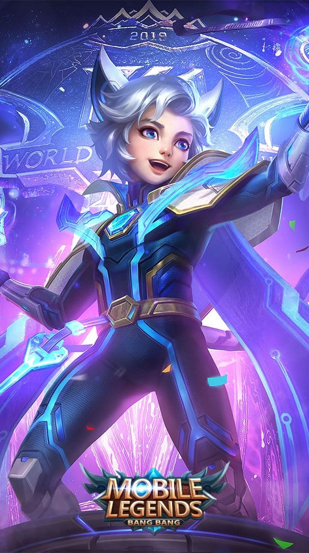 Wallpaper Harith Evos Legends Skin Mobile Legends HD for Android and iOS