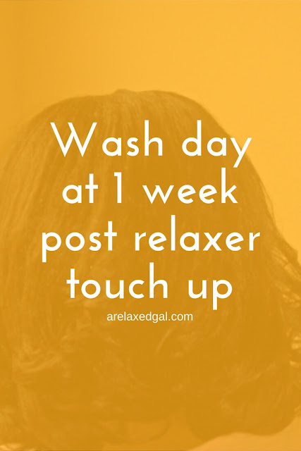 During this wash day I share my first impressions of Carols Daughter Hair Milk Conditioning Styling Pudding at 1 week post relaxer touch up. | @arelaxedgal