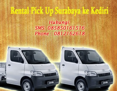 Rental Pick Up Surabaya ke Kediri