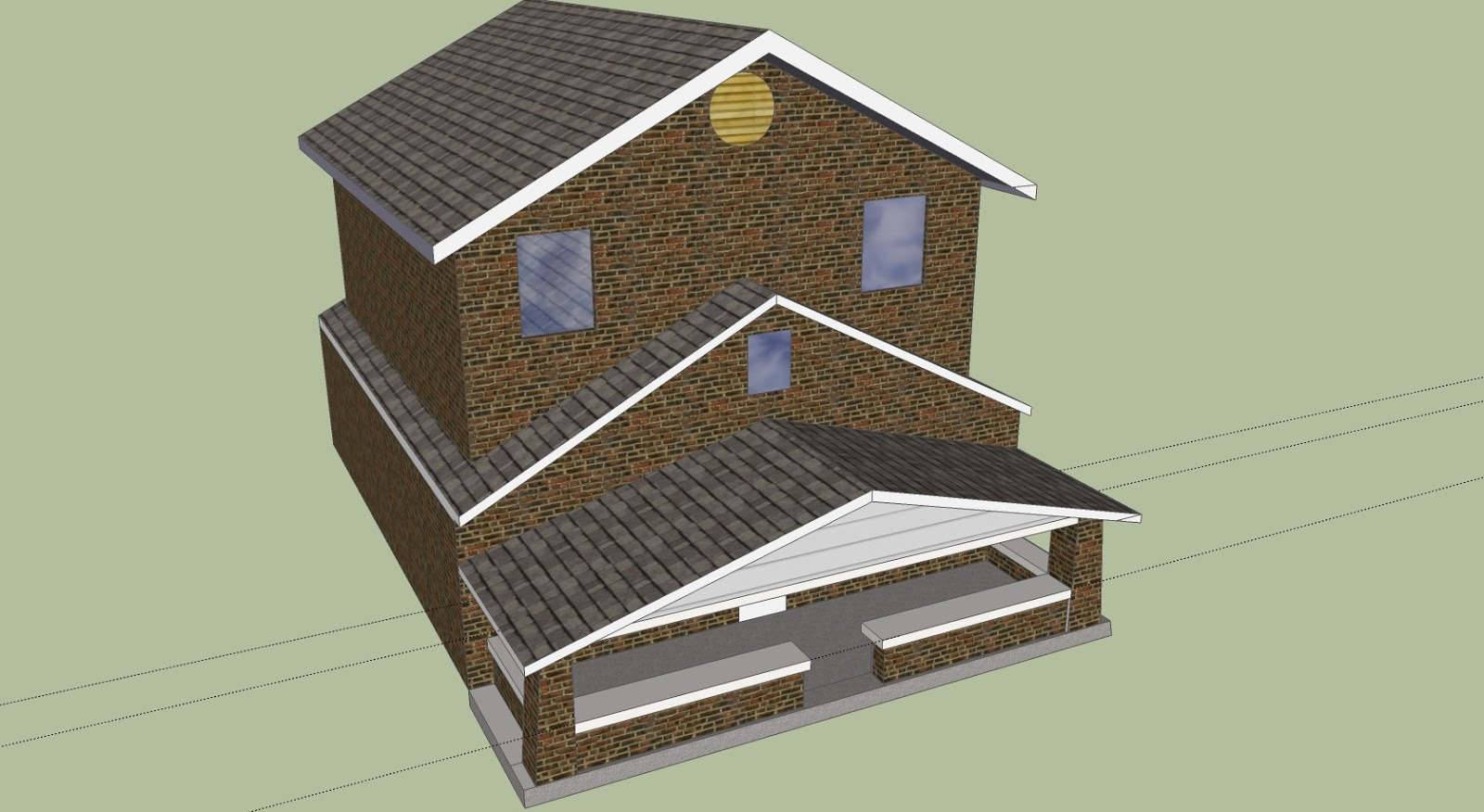 All Brick Option Design by Scotty, Scotts Contracting
