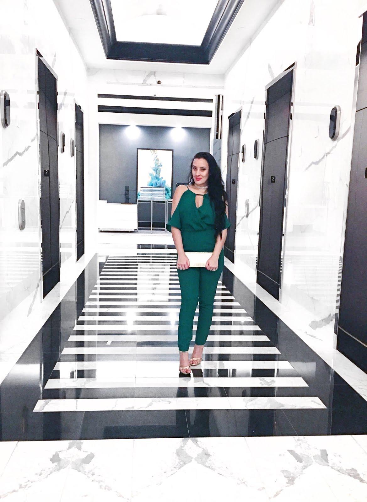 Emerald-Jumper-OOTD-Miami-Fl-Vivi-Brizuela-PinkOrchidMakeup