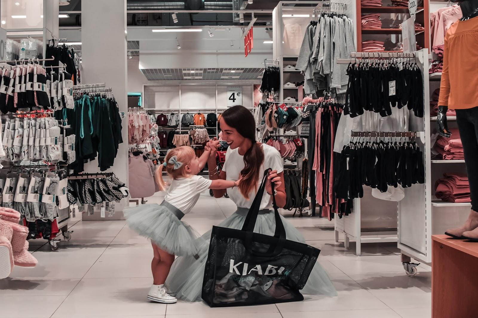 kiabi shopping mamma figlia