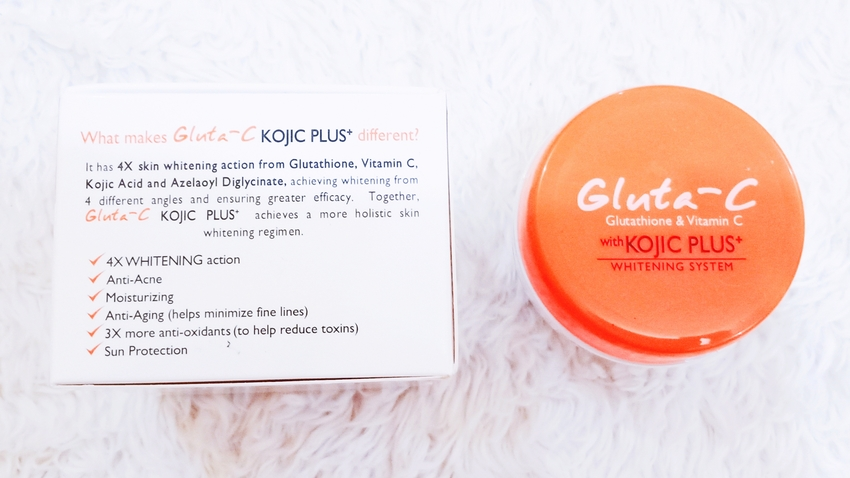 SKINCARE REVIEW | Gluta-C: Glutathione and Vitamin C with Kojic+ Whitening System Face & Neck Cream and Intense Whitening Face & Body Soap, and Alcohol-Free Toner (by @TheGracefulMist | www.TheGracefulMist.com) - Top Arts, Beauty, Fashion, Health, Lifestyle, Skin Care Filipina Blogger in Quezon City, Metro Manila, Philippines