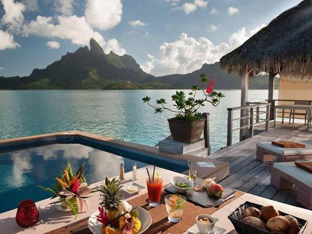 Hilton Bora Bora Hotel Water Bungalow