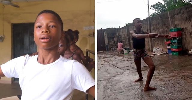 Мальчик из Нигерии станцевал босиком под дождём и проснулся знаменитым — его танец оценили даже знаменитости