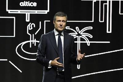 Martin Roos, CEO de la compañía Altice Dominicana.
