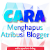 Cara menghilangkan tulisan powered by blogger(Atribusi Blogger)
